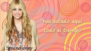 Hannah Montana Forever- Been here all along (Español) - YouTube.flv