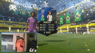 FIFA 17 TOTY MARCELO IN 100K PACK!!! 😱⛔️ (FIFA TOTY TEAM OF THE YEAR LIGHTNING ROUNDS)
