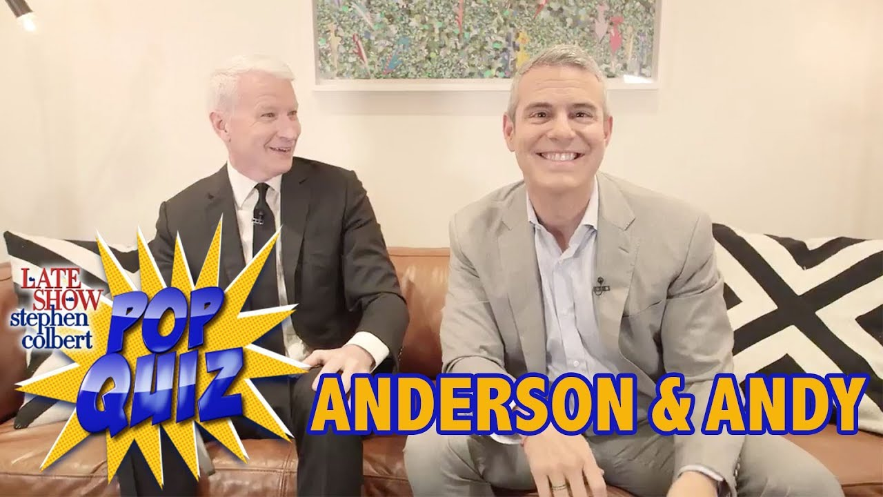'Pop Quiz' with Anderson Cooper & Andy Cohen thumbnail