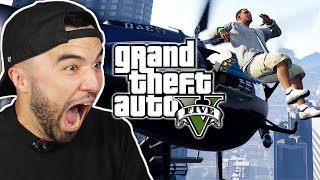 People Try The Ragdoll Challenge in GTA V