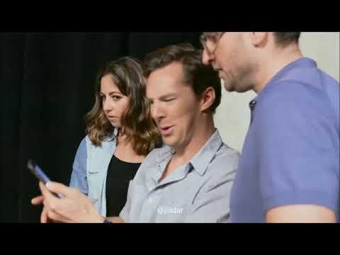 Benedict Cumberbatch at MTV (видео)