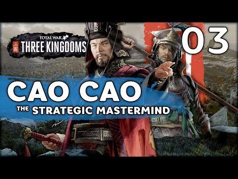 Wei-Shu War & Bloody Ambushes | Total War: Three Kingdoms (Cao Cao Campaign) #3