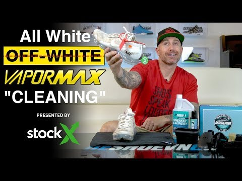 Best way to clean Off-White Nike VaporMax with Reshoevn8r presented by StockX