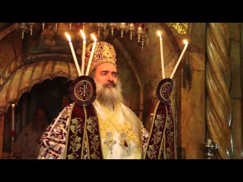 Иерусалим. Служба в Храме Гроба Господня