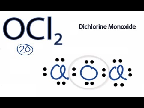 Which Electron Dot Structure Is Best For Oci2 Yahoo Answers