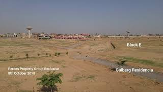 Latest Development Status of Gulberg Greens and Residencia Islamabad