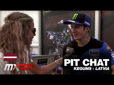 Pit Chat with Jeremy Seewer - MXGP of Latvia 2019 #motocross