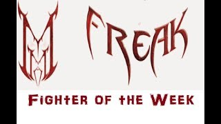 MMA Freak Fighter of the Week UFC 231