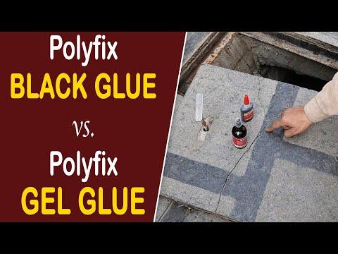 Repair Drain Cover with Polyfix CA Glue & Spray Activator