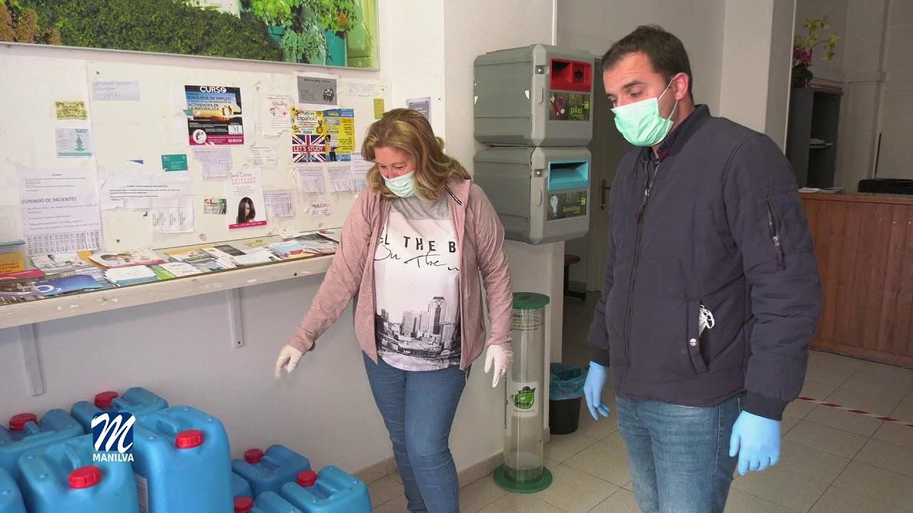 Limpieza y desinfección sin descanso