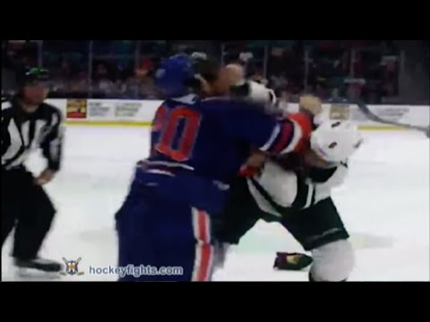 Luke Gazdic vs. Christian Folin