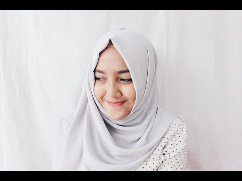 Video Tutorial Hijab Agar Muka Tidak Terlihat Bulat - RADENRIZKA