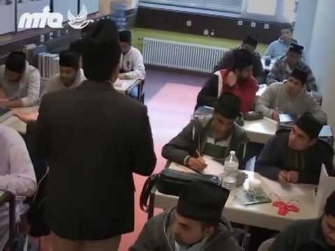 Bericht über die Jamia Ahmadiyya Deutschland