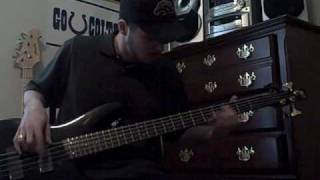 Taproot - Fault - Bass Cover Video