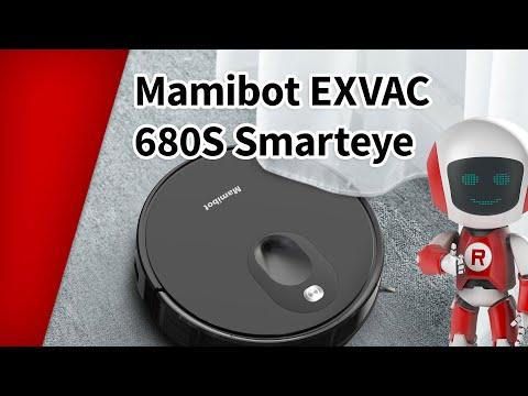 Pesev robottolmuimeja kaameraga Mamibot EXVAC 680S hind ja info | Tolmuimejad | kaup24.ee
