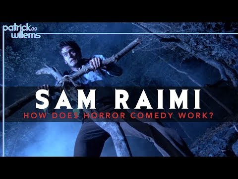 Sam Raimi exhibits that horror might be bloody hilarious · Nice Job, Web! · The A.V. Membership