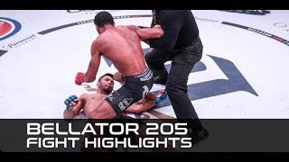Bellator 205 Fight Highlights: AJ McKee Sleeps John Teixeira!