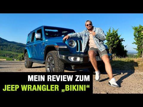 "Jeep Wrangler ""Bikini"" (2020) 💙👙 Oben ohne ins Gelände! Fahrbericht | Review | Test | On/-Offroad"