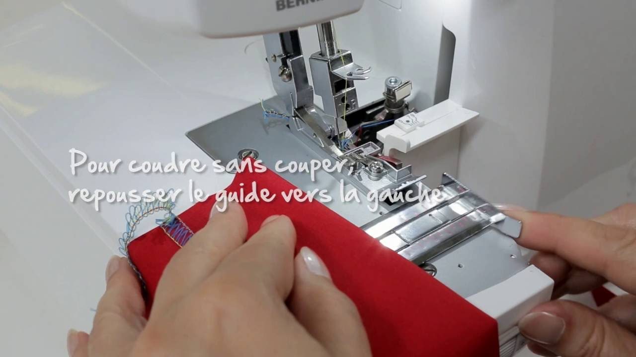 BERNINA L 450 : introduction vidéo 7/8