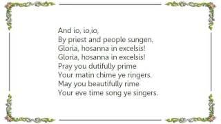 Charlotte Church - Ding Dong Merrily on High French Lyrics