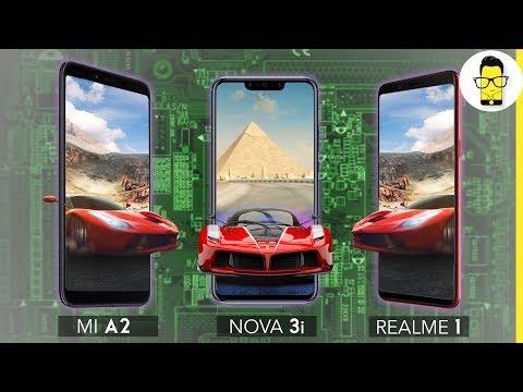 Kirin 710 vs Snapdragon 660 vs Mediatek Hello P60 - the best