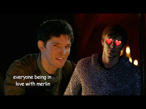 everyone being in love with merlin for 8 minutes