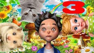Тимпсики #3. Тимпка и Гомпка на ферме. Английский язык для детей по мультфильмам.