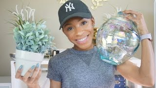 Quick Home Decor Haul! Ikea, HomeGoods, Container Store ▸ VICKYLOGAN by VICKYLOGAN