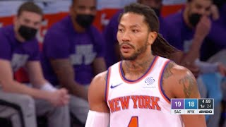 Derrick Rose Hit His First 7 Shots Against Kings