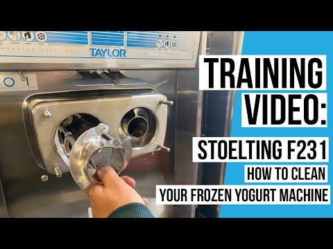 Frozen Yogurt Store for Sale Package Deal - 3 Stoelting F231 WATER COOLED