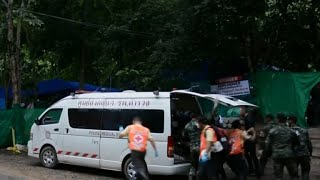 Divers complete Thai cave rescue, all 12 boys and coach out safely