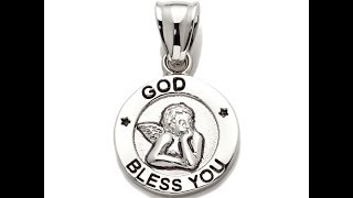 Michael Anthony Jewelry God Bless You Pendant