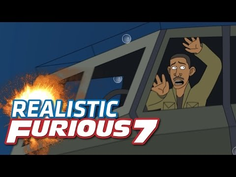 Silly Animation Imagines If Fast And Furious 7's Stunts Were Realistic