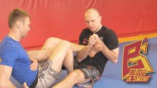 Три контратаки болевыми на ноги