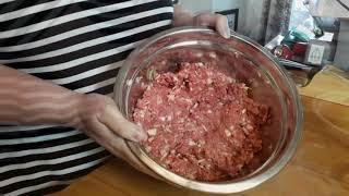 Cevapcici - Croatian Sausage