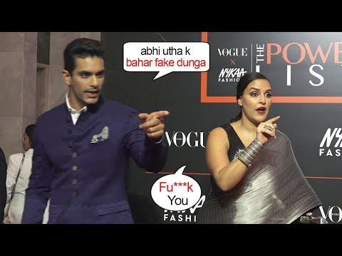Neha Dhupya With Husband Angad Bedi Angry On Media When Asked Personal Questions