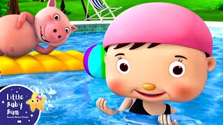 Download this video now! https://bamazoo.com/p/swimming-song-from-little-baby-bum-official-release-13268  Download LBB videos  https://bamazoo.com/littlebabybum Plush Toys: http://littlebabybum.com/shop/plush-toys/ © El Bebe Productions Limited