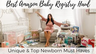 Baby Registry Must Haves; Amazon Registry Haul; What To Add To Baby Registry