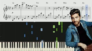 Jukebox The Ghost - Sound Of A Broken Heart - Piano Tutorial + SHEETS