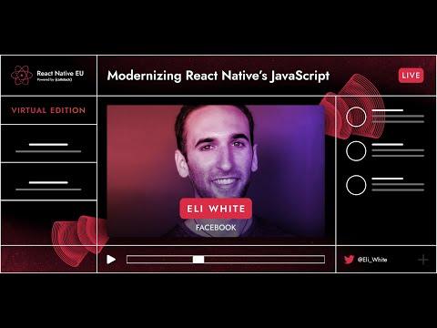 Image thumbnail for talk Modernizing React Native's JavaScript