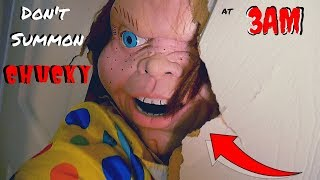 Don't Summon Chucky From Child's Play at 3am! Scary Clown Attacks? WeeeClown Around