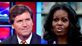 Tucker Carlson vs Michelle Obama