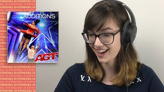 ALEXA REACTS to BAD SALSA Audition | America's Got Talent 202