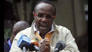 How police cornered David Ndii - VIDEO