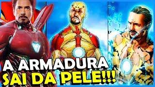 OS SEGREDOS DA NOVA ARMADURA DO HOMEM DE FERRO