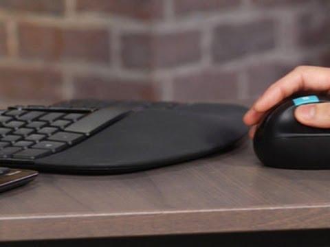Microsoft Bureau ergonomique Sculpt (CH, Sans fil)