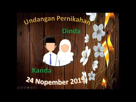 template video undangan pernikahan ppt