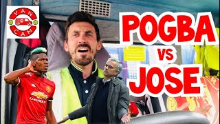 VanCam: Pogba vs Jose | Mino Raiola Wants Pogba to Leave Man Utd 💷💶💰 | Fellaini Watch |