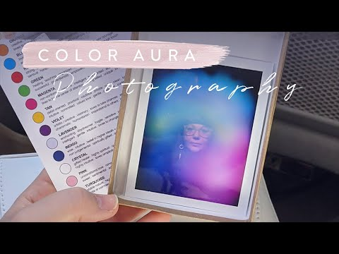 How does color aura photography work? 📸🌈