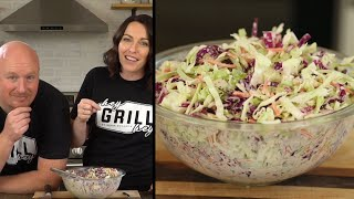 BEST Homemade Coleslaw - How To